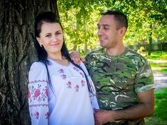 Генадій з дружиною Ілоною