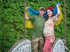 Олександр з дружиною Анастасією