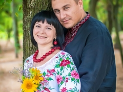 Сергій з дружиною Іриною