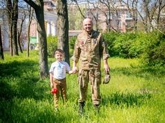Віктор з сином