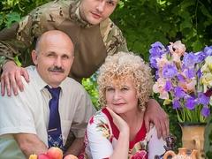 Владислав з батьками Наталею та Олександром