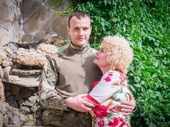 Владислав з мамою